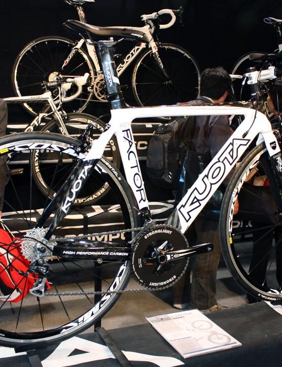 The K-Factor is Kuota's least expensive aero model