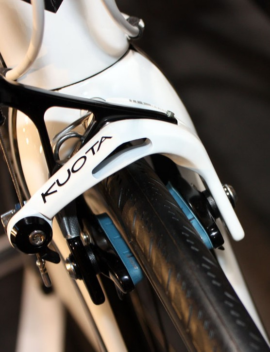 Some Kuota models will come with house-brand brakes for 2011