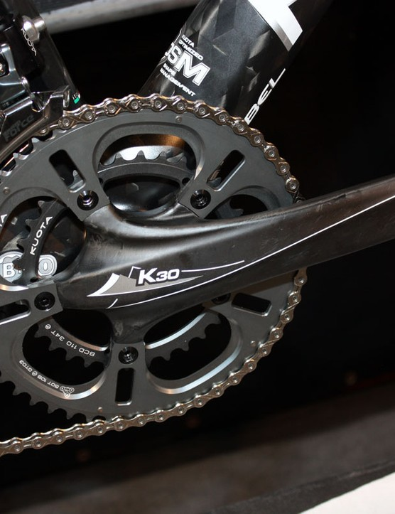 Kuota offer their own BB30-compatible crankset on some 2011 bikes