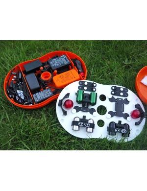 Ay Up V4 Adventure light kit in the neat Ay Pod