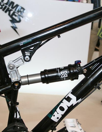 DMR Bolt offers 125mm of travel at the rear