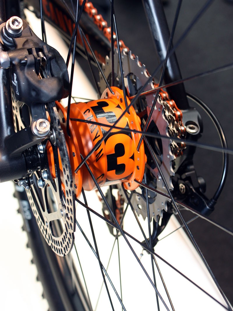 Canyon say their rear hub is still a work in progress but they hope to be able to bring it to market soon