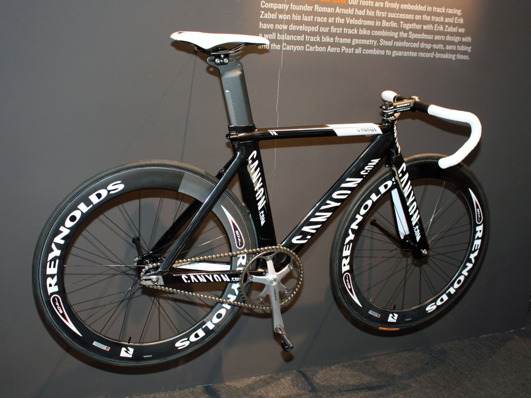 Canyon address one omission in their range with the addition of the new V-Drome track bike