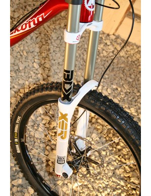 And Rockshox Boxxer Worl Cup forks
