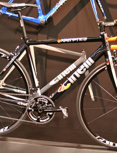 The new Cinelli Experience – a full bike will cost €1,650 with Campagnolo Veloce or €1,530 with Shimano 105