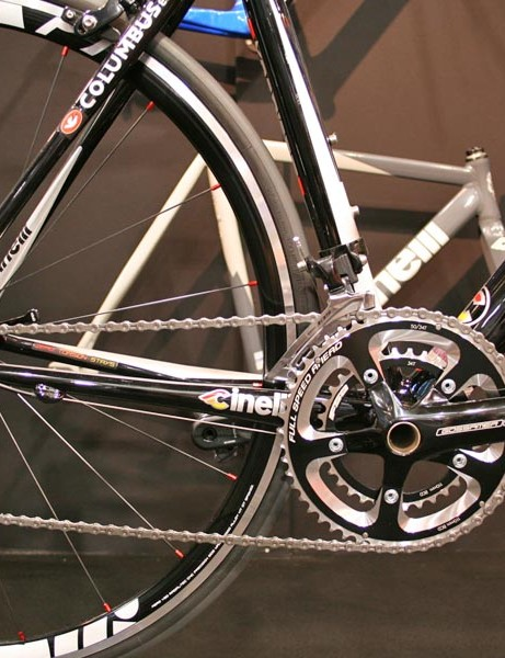 Cinelli's Experience sports plenty of graphics and logos