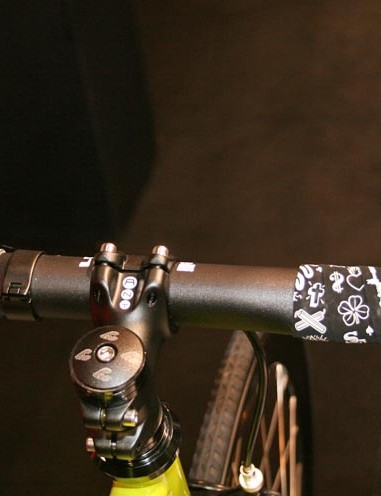 Cinelli's new bar tape has been designed by Mike Giant