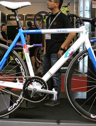 Cinelli's Vigorelli is available as a frame and fork for €550