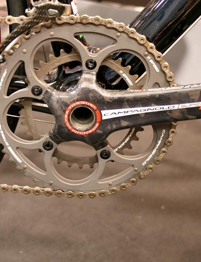 Campagnolo's Super Record on the Strato