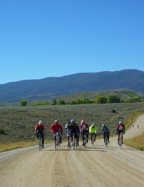 The Crooked Roubaix took place in Colorado's spectacular Grand County