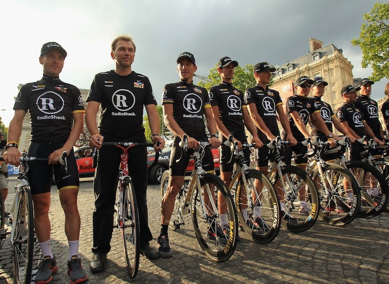RadioShack at the 2010 Tour de France