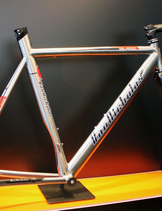 Fancy a time trial? Van Nicholas offer up their titanium Blaze to put you in a more aerodynamic position