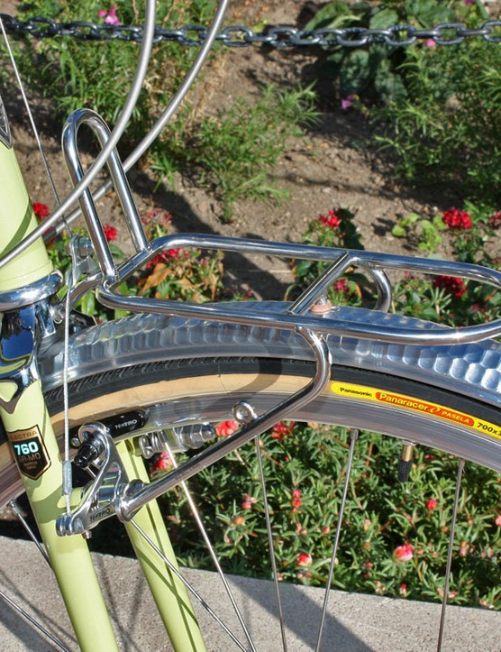 The polished stainless steel racks are on the small side in terms of utility but are beautiful to look at