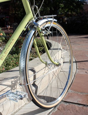 The Electra Ticino 18D wheels are solidly built with an eye towards everyday durability