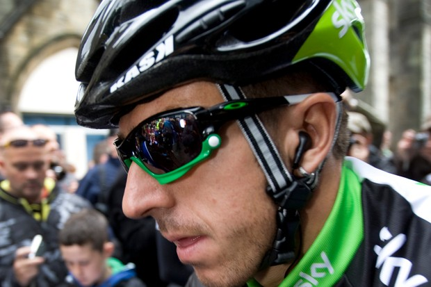 """Team Sky's Russell Downing described yesterday's fourth stage of the Tour of Britain as """"absolute carnage"""""""