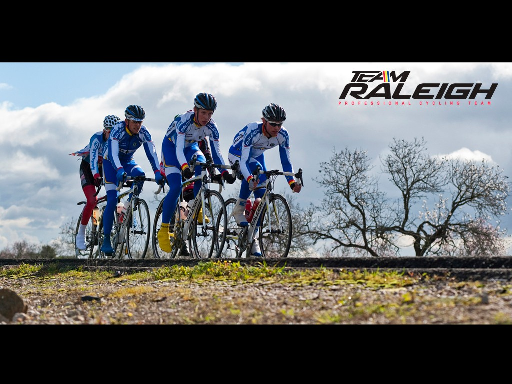 Win a day's training with Team Raleigh