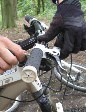 Ruth was advised to raise her brake levers