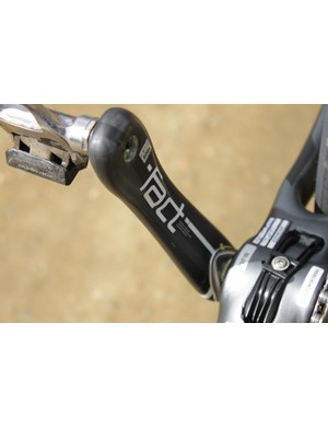 Specialized mouldes their S-Works crank arms from FACT carbon, the same material used in their frames