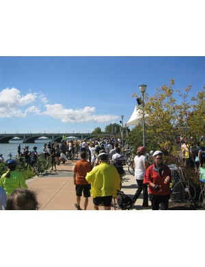 The Tour De Troit is now in its 9th year and it is a good way to see the city's improvements