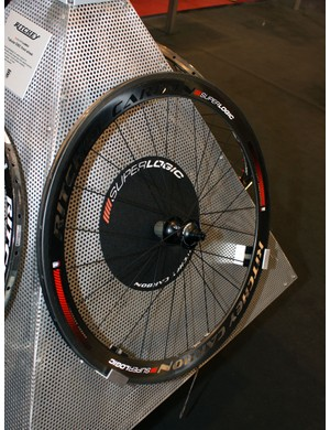 Ritchey say their Superlogic carbon road tubular wheels weigh just 1,157g a set