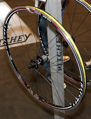 External nipples on the Ritchey Pro Zeta road wheels will make for easy maintenance