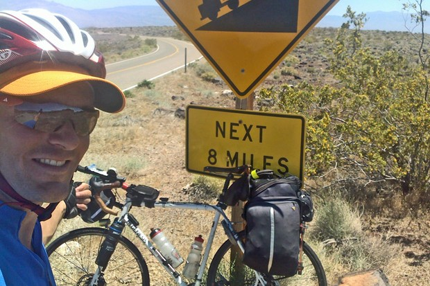 Vin Cox is the new round-the-world cycling record holder