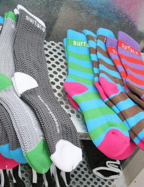 New Surface socks – add some colour to your feet