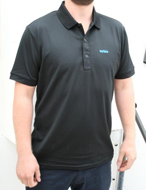 Technical polo shirts look perfect for the commute