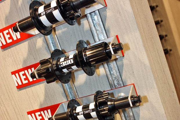 Slotting in below DT Swiss's current 340 range is a new 350 series with slightly heavier weights but still retaining the star ratchet driver mechanism and alloy freehub bodies