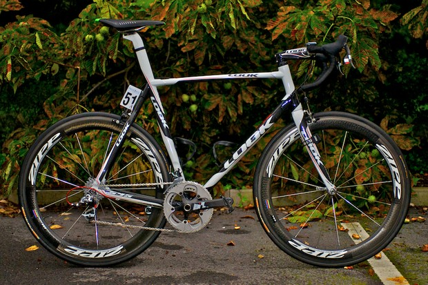 Jack Bauer's Look 595 in Tour of Britain black and white finish