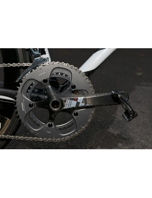 The chainset is a standard SRAM Red item