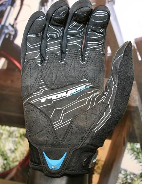 Mercury glove palm