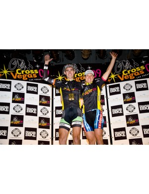 Jamie Driscoll (Cannondale-Cyclocrossworld.com) and Katie Compton (Stevens) took the men's and women's victories in 2009