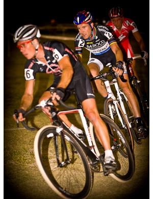 Jonathan Page (Planet Bike-Blue) leads Vervecken in 2009