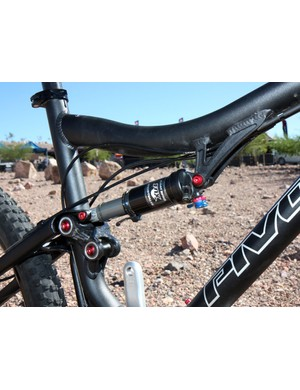 Pivot fit the updated Mach 4 with a shorter-stroke shock than before