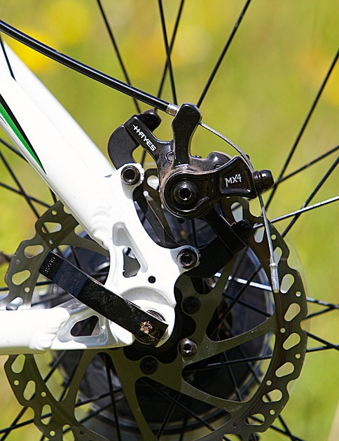 The cable-pull discs are OK, but not up to the power of hydraulics