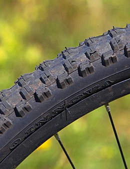 The tyres are fast-rolling, but the low profile makes for a harsh ride