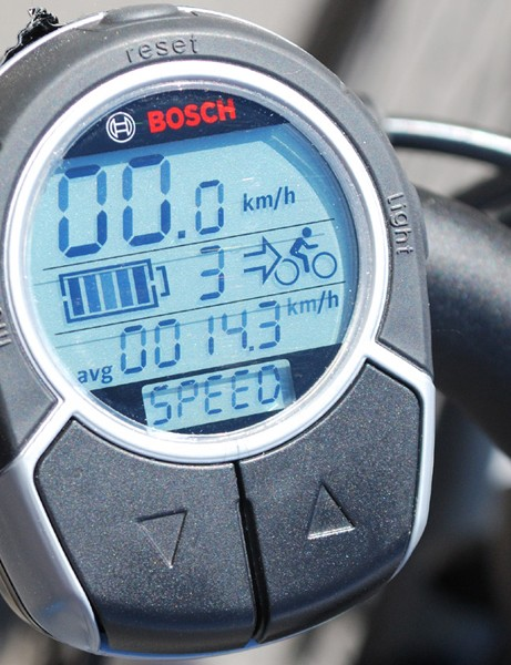 Bosch bike computer and power controls in one