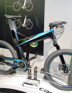 The latest electric bikes on display at the Eurobike trade show in Germany included this Cannondale fitted with Bosch's new crank motor system