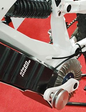 KTM Egnition battery and motor