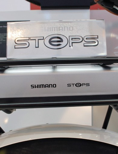 Shimano STePS battery with integrated light