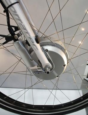 Shimano STePS hub motor