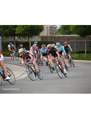 Racing in the M1 road race