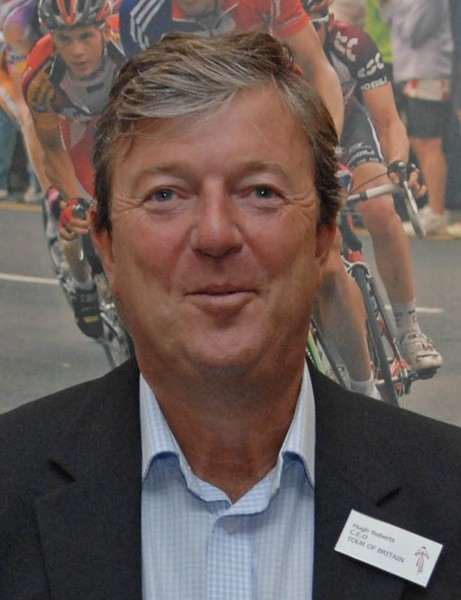 Hugh Roberts hopes to expand the Tour of Britain to a ninth day