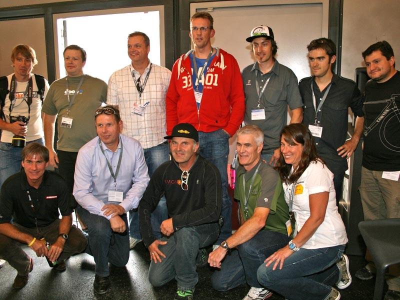 IMBA Europe group photo