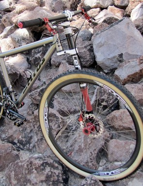 Fairwheel Bikes could have made their project bike even lighter by going with 26in wheels but opted for more capable 29in ones instead
