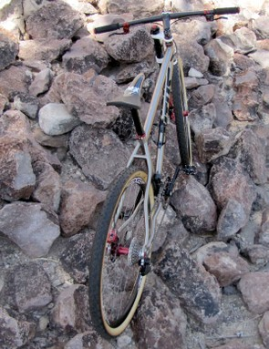 Fairwheel Bikes owner Jason Woznick says the custom Titus wasn't just built for show – he plans on using it as his everyday machine after Interbike