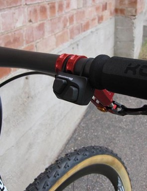 Fairwheel Bikes use Shimano's own satellite shifter for their Di2 mountain bike project
