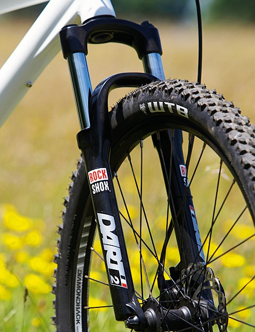 The Rock Shox Dart 2 isn't a great fork, but it's better than most other forks on bikes at this price