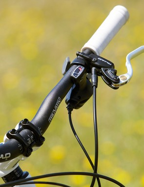 Quad's hydraulic disc brakes are a really excellent choice for high power and reasonable modulation